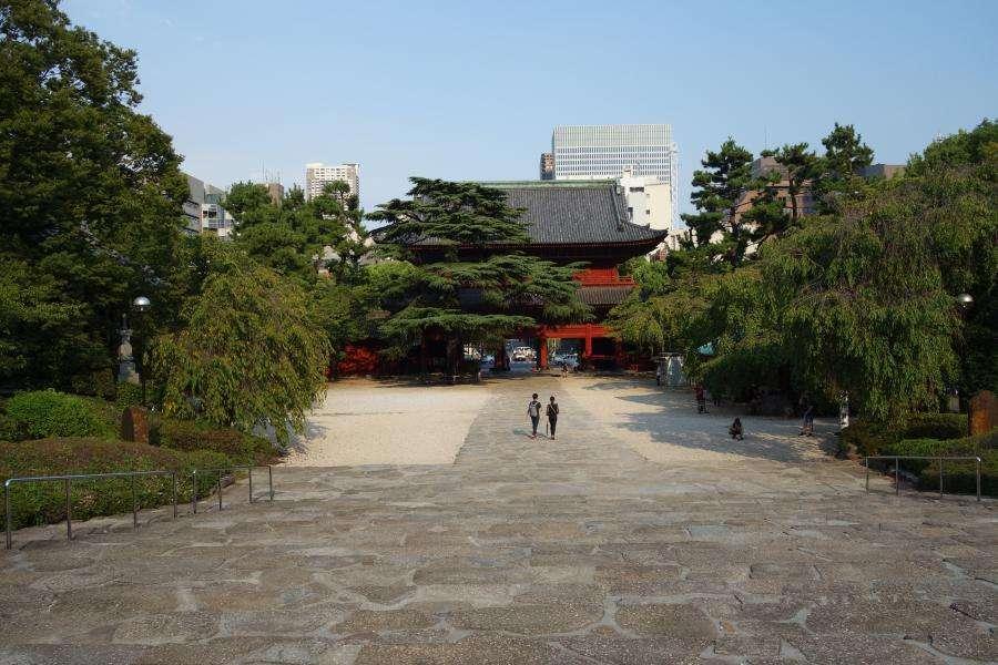 Zojo-ji tempio a Tokyo