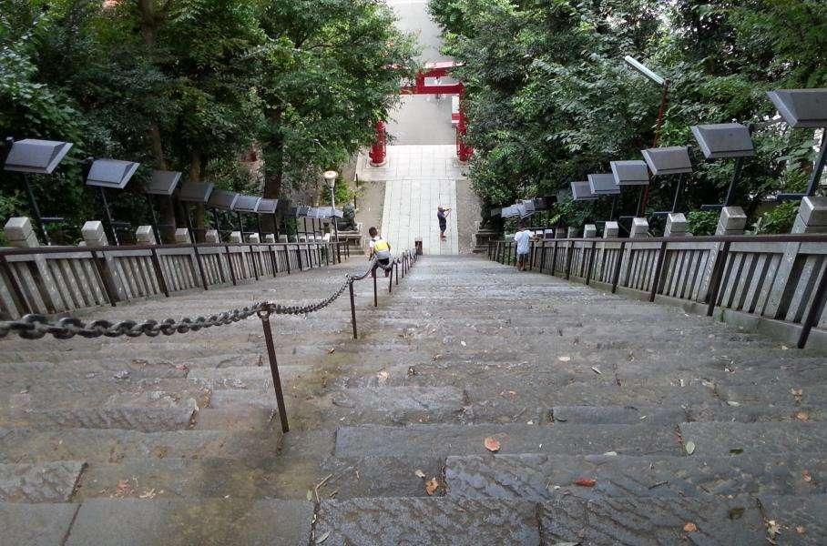 Atago shrine Minato Tokyo