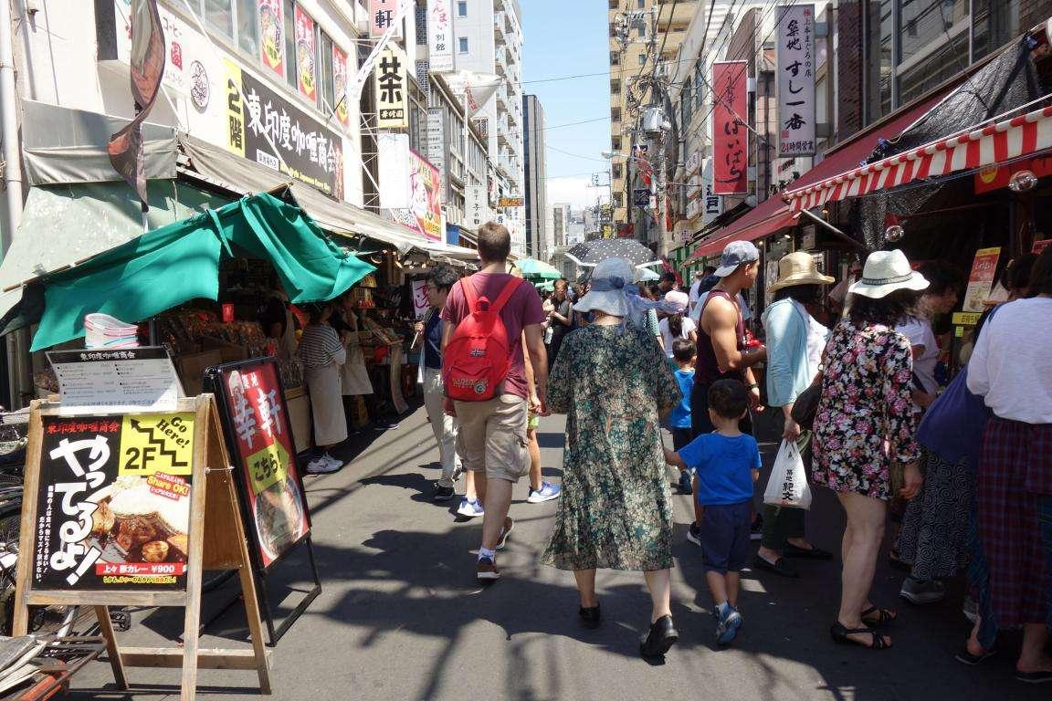 Tsukiji cosa vedere