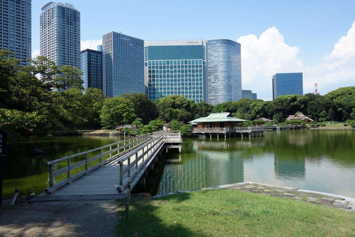 Hama Rikyu Garden a Tokyo