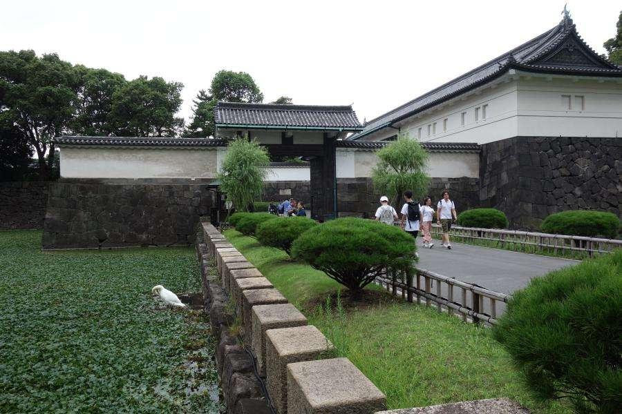 Ote-mon gate palazzo imperiale di Tokyo