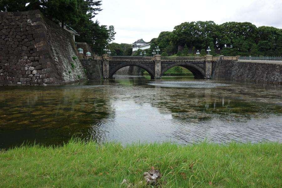 Iron Bridge palazzo imperiale di Tokyo